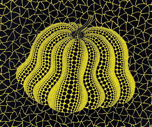 yayoi-kusama-silkscreen-pumpkin